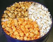 Clary's Old Fashioned Gourmet Popcorn - Six and One-Half Gallon Tin 3 Way Popcorn
